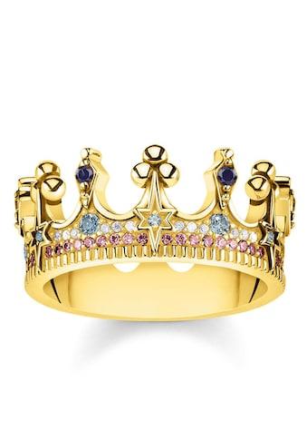 THOMAS SABO Fingerring »Krone gold, TR2224 - 959 - 7 - 50, 52, 54, 56, 58, 60« kaufen