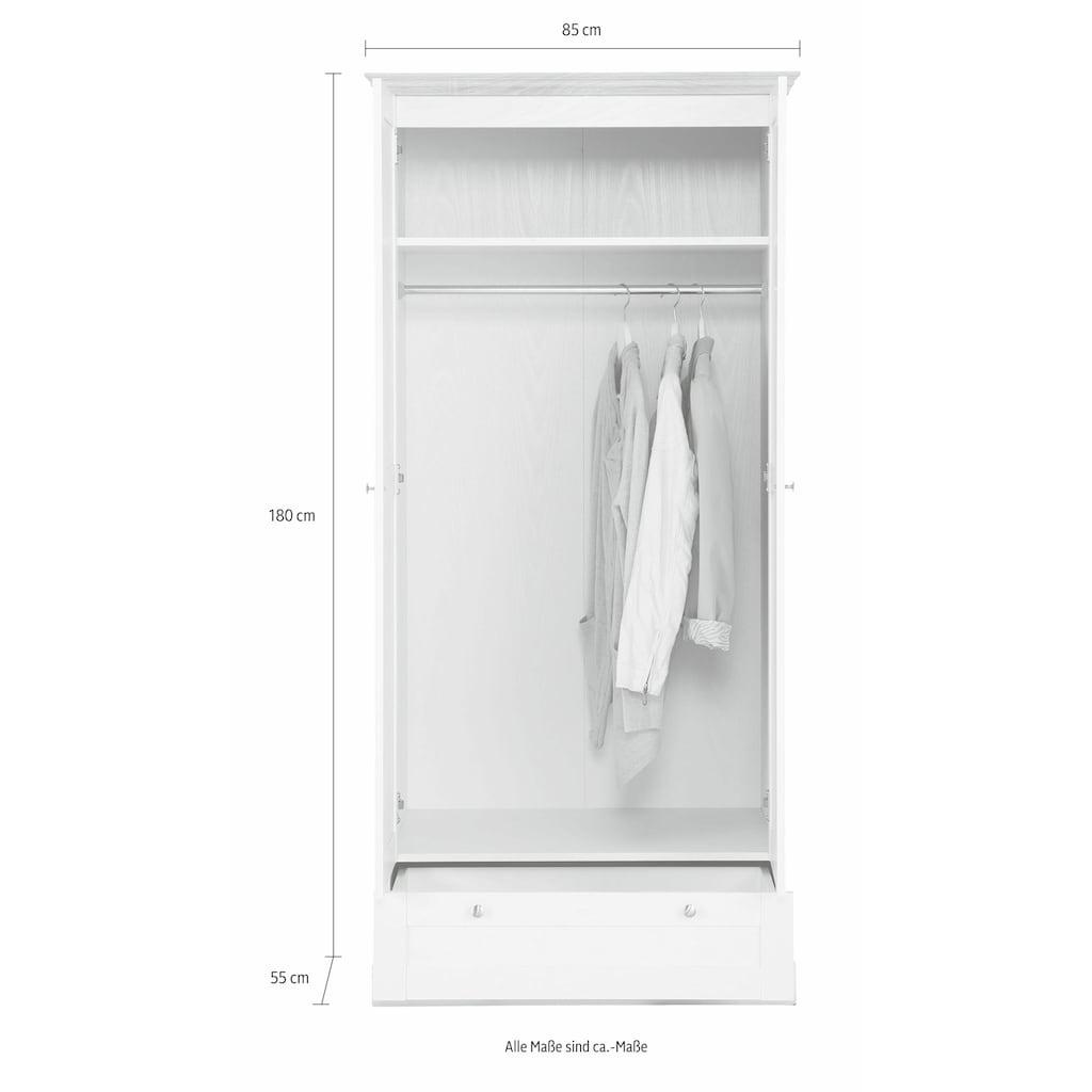 Home affaire Drehtürenschrank »Binz«, in unterschiedlichen Breiten und zwei Farbvarianten erhältlich
