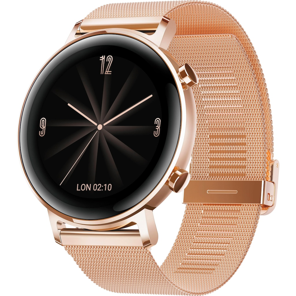 Huawei Smartwatch »Watch GT 2 Elegant« (, RTOS, 24 Monate Herstellergarantie