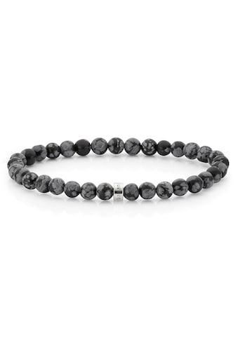 Bruno Banani Armband »B4021B/90/Y9«, mit Obsidian, Made in Germany kaufen