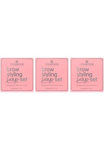 Essence Augenbrauen-Gel »brow styling soap set«, (Set, 3 tlg.) kaufen