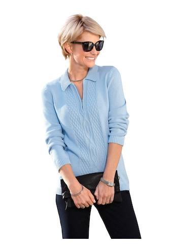 Casual Looks Polokragenpullover »Pullover« kaufen