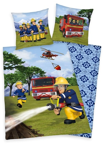 Kinderbettwäsche »Feuerwehrmann Sam«, Feuerwehrmann Sam kaufen