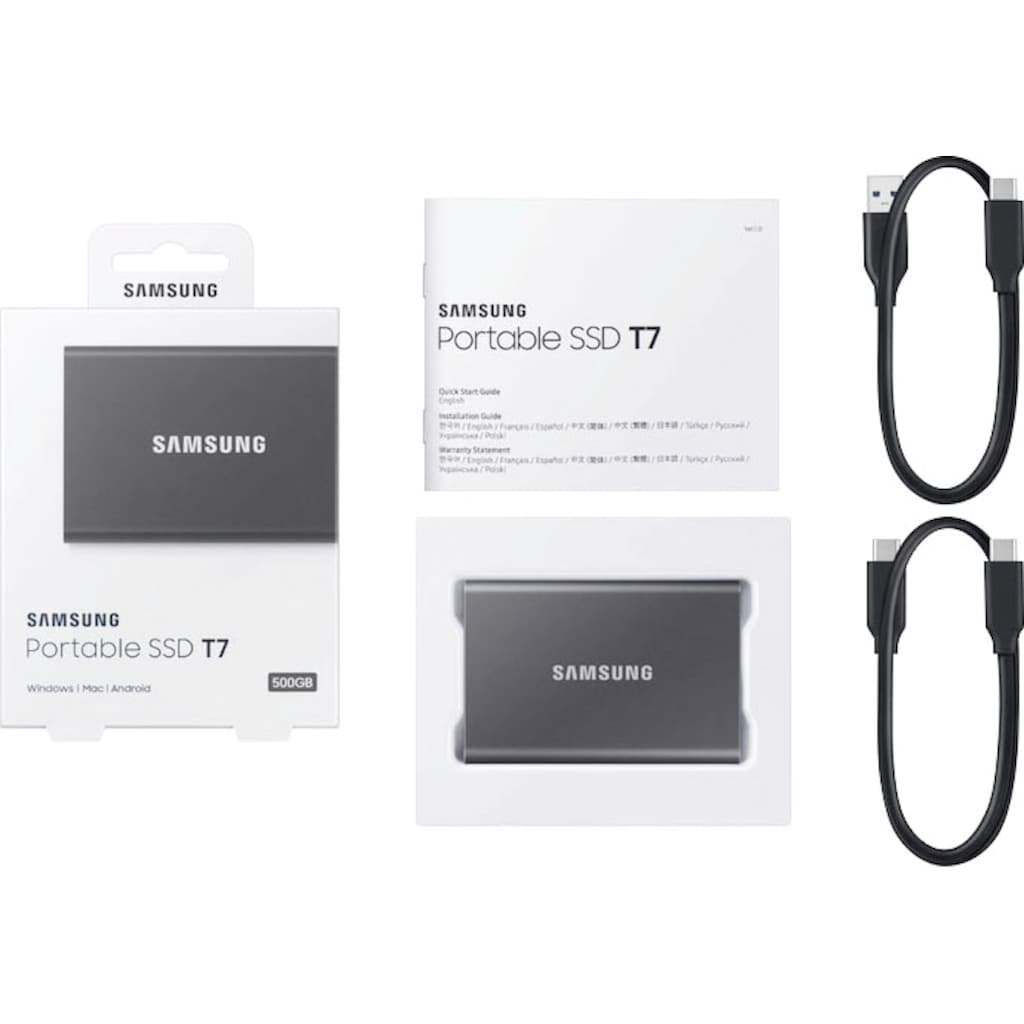 Samsung externe SSD »Portable SSD T7 500GB«