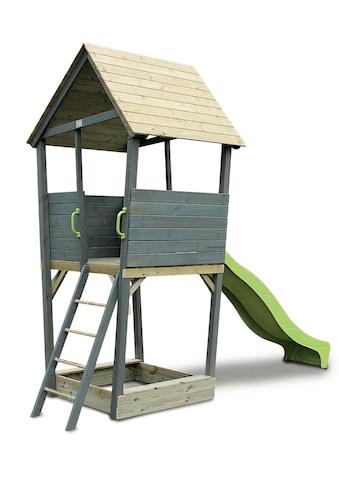 Exit Spielturm »Aksent«, B/T/H: 323/296/401 cm kaufen
