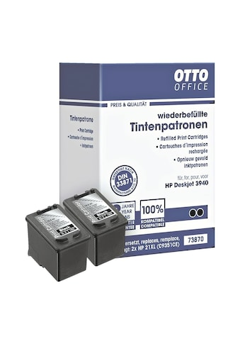 Otto Office Doppelpack Tintenpatronen ersetzt HP Nr. 21 kaufen
