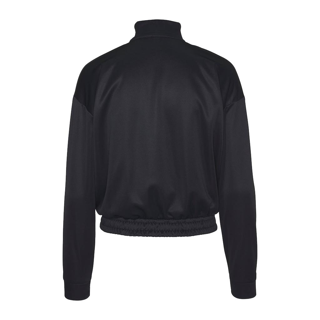 LTB Sweatshirt »GIBILE«, mit vorderem Zipper am Kragen als Highlight