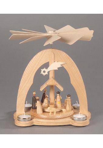 """Albin Preissler Weihnachtspyramide """"Tischpyramide  -  Christi Geburt"""" kaufen"""