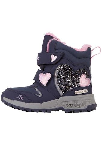 Kappa Stiefel »ADORA TEX KIDS«, LED-Stiefel mit coolen Leuchteffekten im Obermaterial kaufen