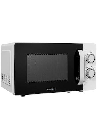 Medion® Mikrowelle »MD 18687«, Mikrowelle, 700 W, 6 Leistungsstufen kaufen