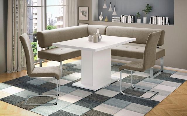 Eckbankgruppe im modernen Design