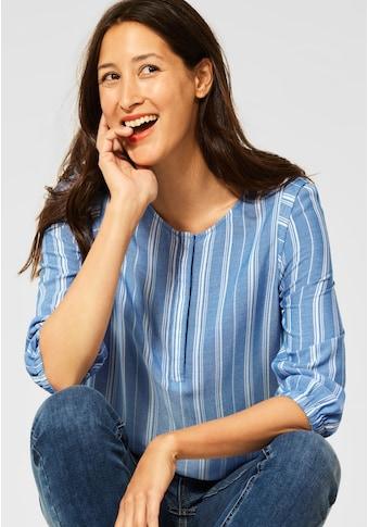 STREET ONE Klassische Bluse, im Streifen-Design kaufen