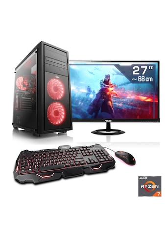 CSL »Sprint T8514 Windows 10 Home« PC - Komplettsystem (AMD, Ryzen 7, GTX 16) kaufen
