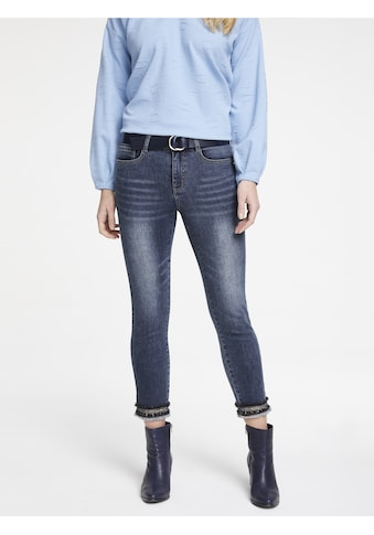 LINEA TESINI by Heine Skinny-fit-Jeans, mit Applikation kaufen
