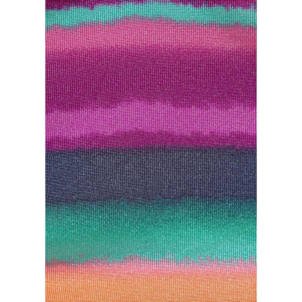 LASCANA Bügel-Tankini-Top »Rainbow«, mit Miederverstärkung