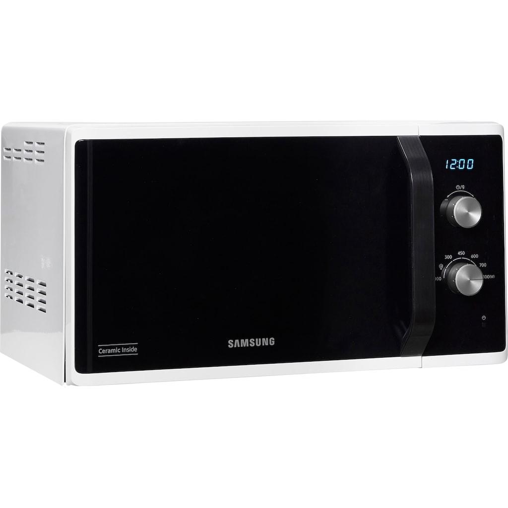 Samsung Mikrowelle »MS23K3614AW/EG«, Mikrowelle, 1150 W, Mit 6 Leistungsstufen