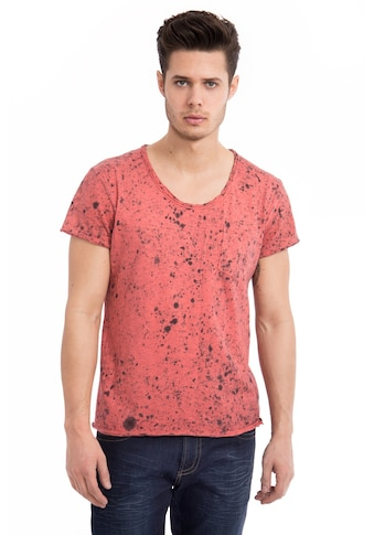 Way of Glory T-Shirt, Round neck Cool Wash with Dots kaufen