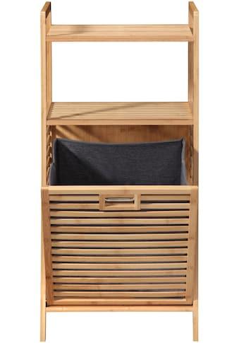 welltime Wäschetruhe »Panama«, mit Ablage, aus Bambus kaufen