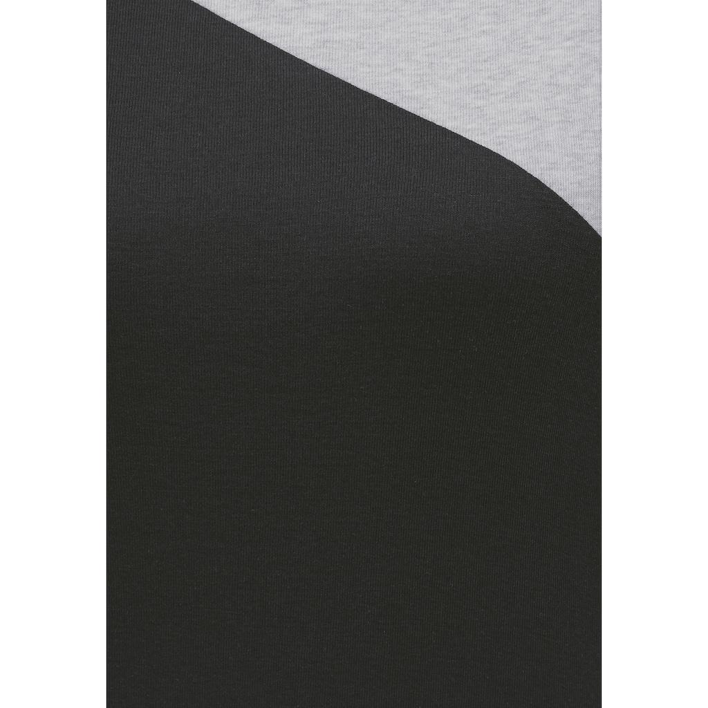 Flashlights Langarmshirt, Colorblocking-Style