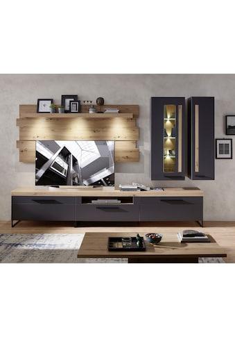 Innostyle Wohnwand »Loft Two«, (5 St.), inkl. LED-Beleuchtung kaufen