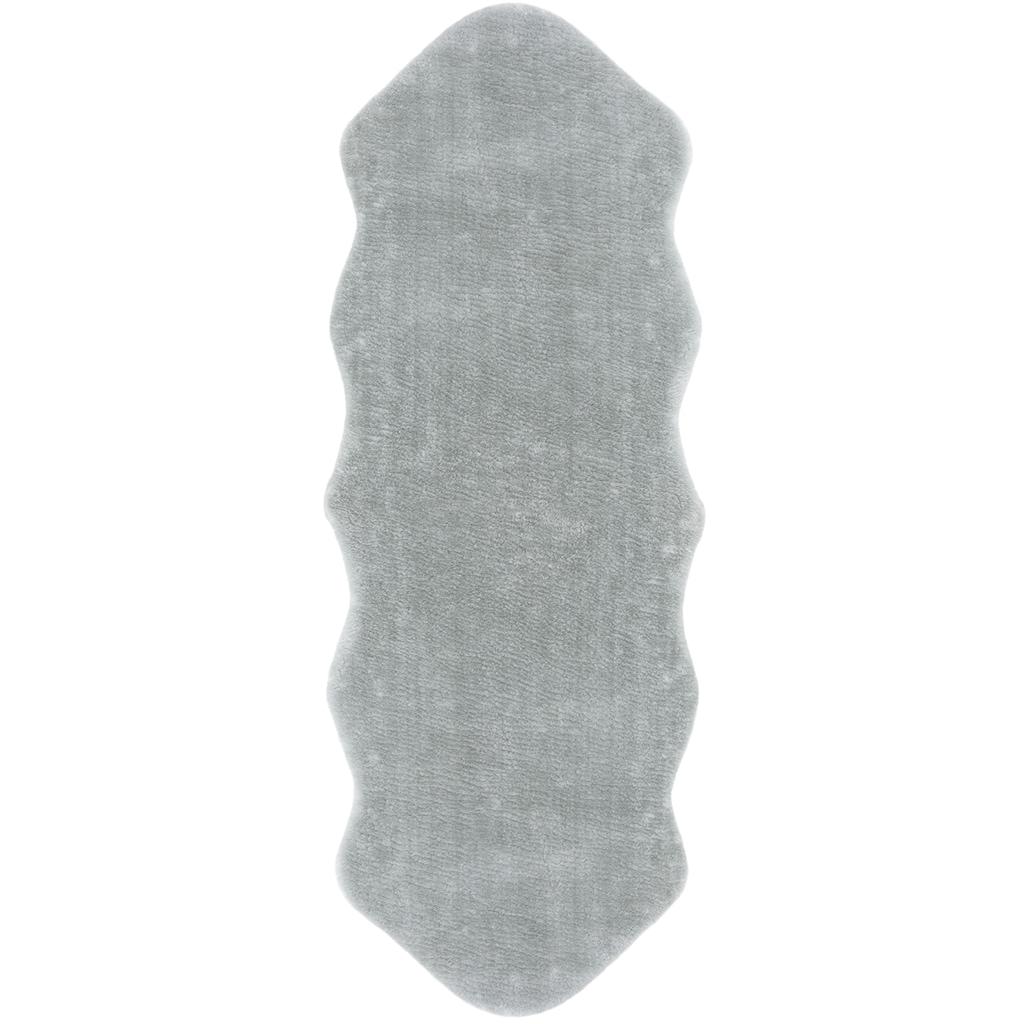 Andiamo Läufer »Lamm Fellimitat«, fellförmig, 20 mm Höhe, Kunstfell, besonders weich durch Microfaser