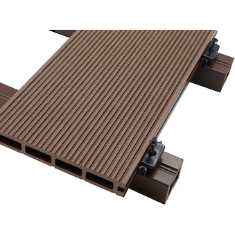 HOME DELUXE Komplett - Set: WPC - Terrassendielen , inkl. Unterkonstruktion, 12 m², dunkelbraun kaufen