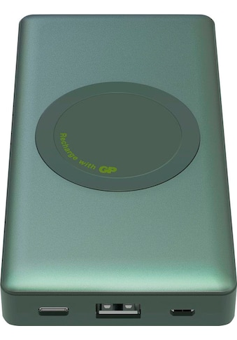 GP Batteries Batterie-Ladegerät »Drahtloses Powerbank GP Q10A grau 10.000 mAh 2... kaufen