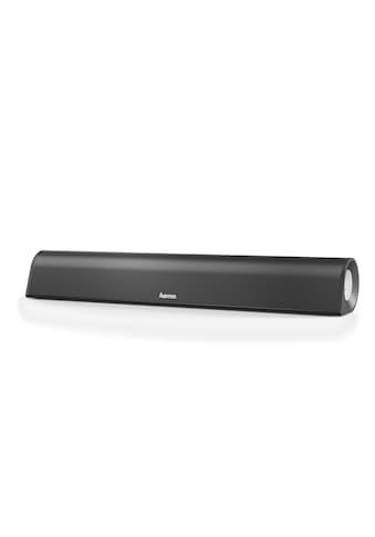 Hama PC Lautsprecher, Soundbar für Computer, TV etc. mit Klinke »aktive 2.0 Stereo - Lautsprecher« kaufen