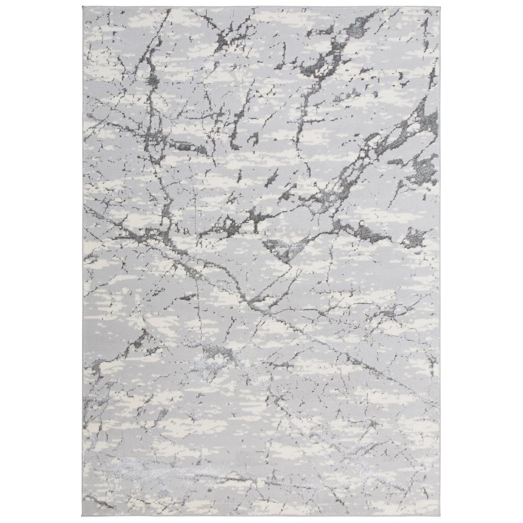 Leonique Teppich »Kalmus«, rechteckig, 11 mm Höhe, Marmor-Optik, Wohnzimmer