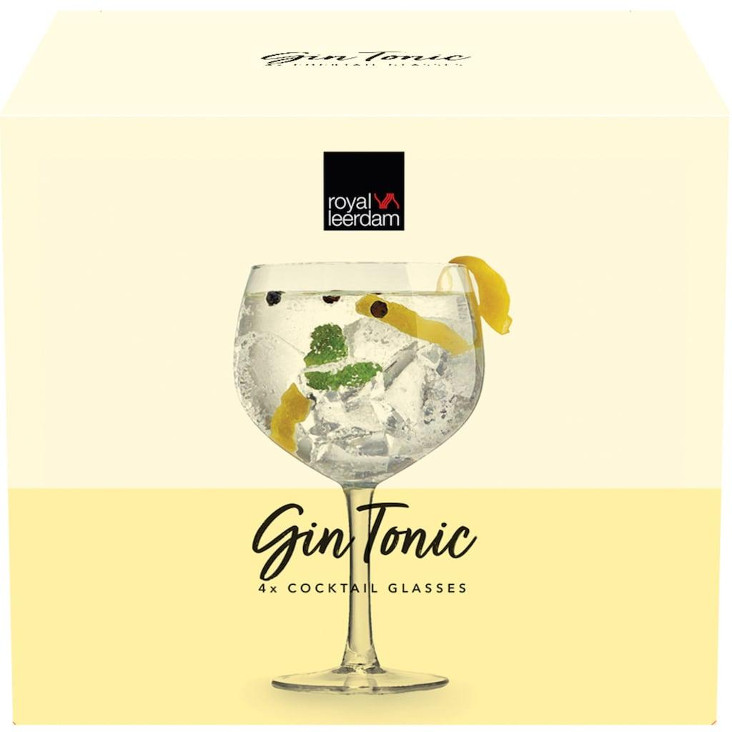 van Well Cocktailglas »Gin Tonic«, (Set, 4 tlg.), 650 ml, im Geschenkkarton
