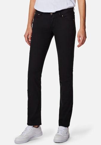 Mavi Straight-Jeans »OLIVIA-MA«, mit geradem Beinverlauf, enganliegend bis zum... kaufen