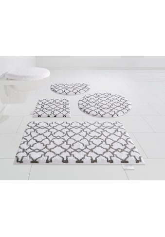 Guido Maria Kretschmer Home&Living Badematte »Birdal«, Höhe 15 mm, rutschhemmend beschichtet, fußbodenheizungsgeeignet kaufen