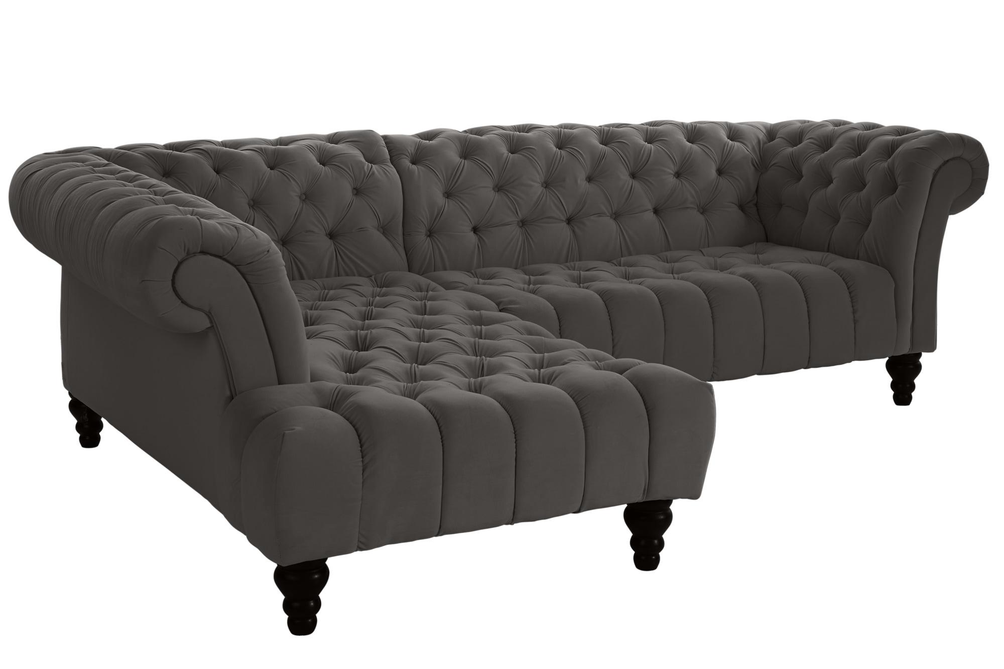 heine home ecksofa mit ottomane rechts oder links online shop. Black Bedroom Furniture Sets. Home Design Ideas