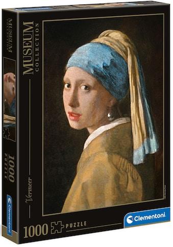 Clementoni® Puzzle »Museum Collection - Vermeer - Das Mädchen mit dem Perlenohrring«,... kaufen