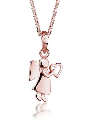 Elli Collierkettchen »Engel Herz Glücksbringer Symbol 925 Silber« kaufen