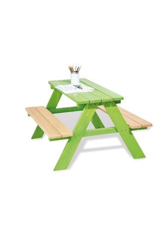 Pinolino® Kindersitzgruppe »Nicki für 4, grün« kaufen