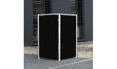 Hide Mülltonnenbox, für 1 x 120 l, schwarz kaufen