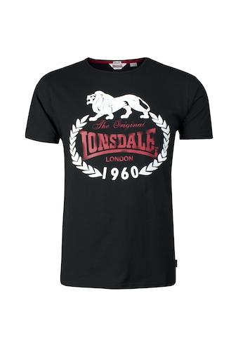 Lonsdale T-Shirt »ORIGINAL 1960«, in sportlichem Design kaufen