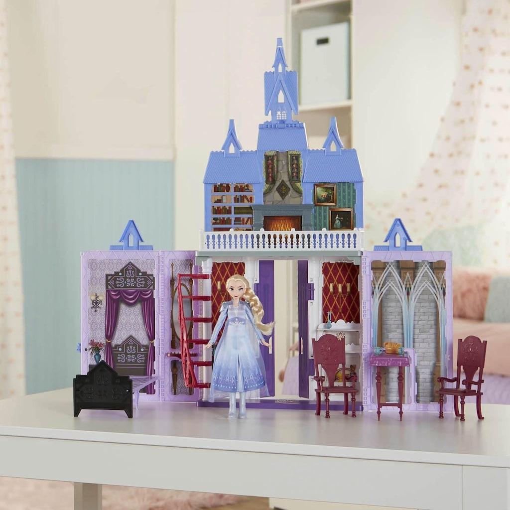 Hasbro Puppenhaus »Die Eiskönigin II, Arendelle Schloss für unterwegs«, tragbar