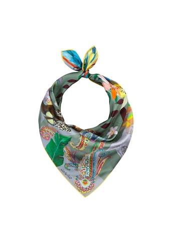 Codello Seidentuch, aus reiner Seide mit farbenfrohem Exotik-Print kaufen