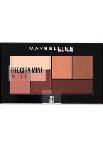 MAYBELLINE NEW YORK Lidschatten-Palette »The City Mini«, Matte About Town kaufen