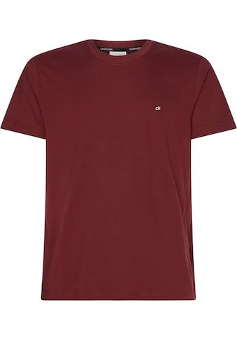 Calvin Klein T-Shirt »COTTON LOGO EMBROIDERY« kaufen