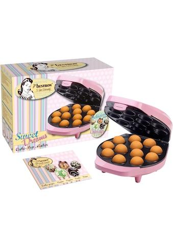 bestron Cakepop-Maker »Sweet Dreams«, 700 W, im Retro Design, Antihaftbeschichtung,... kaufen