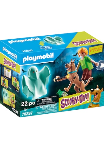 Playmobil® Konstruktions-Spielset »SCOOBY-DOO! Scooby & Shaggy mit Geist (70287), SCOOBY-DOO!«, Made in Europe kaufen