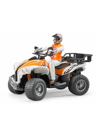 Bruder® Spielzeug-Quad »Quad mit Fahrer (Kleidungsfarben gemischt sortiert)«, Made in... kaufen