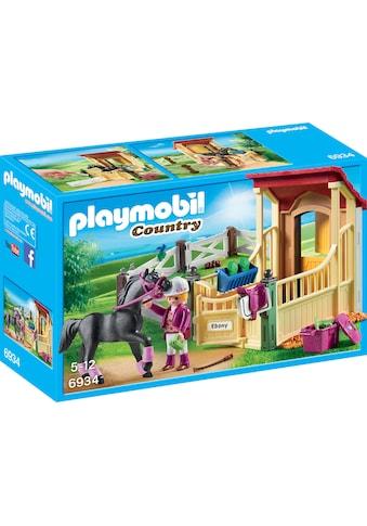 "Playmobil® Konstruktions - Spielset ""Pferdebox Araber (6934), Country"", Kunststoff kaufen"