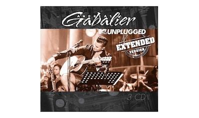 Musik-CD »MTV UNPLUGGED (EXTENDED VE / Gabalier,Andreas« kaufen