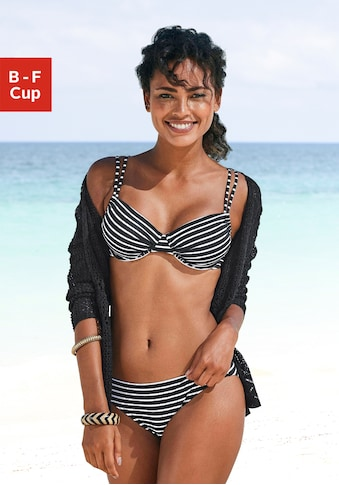 s.Oliver Beachwear Bügel-Bikini-Top »Hill«, mit Doppelträger kaufen