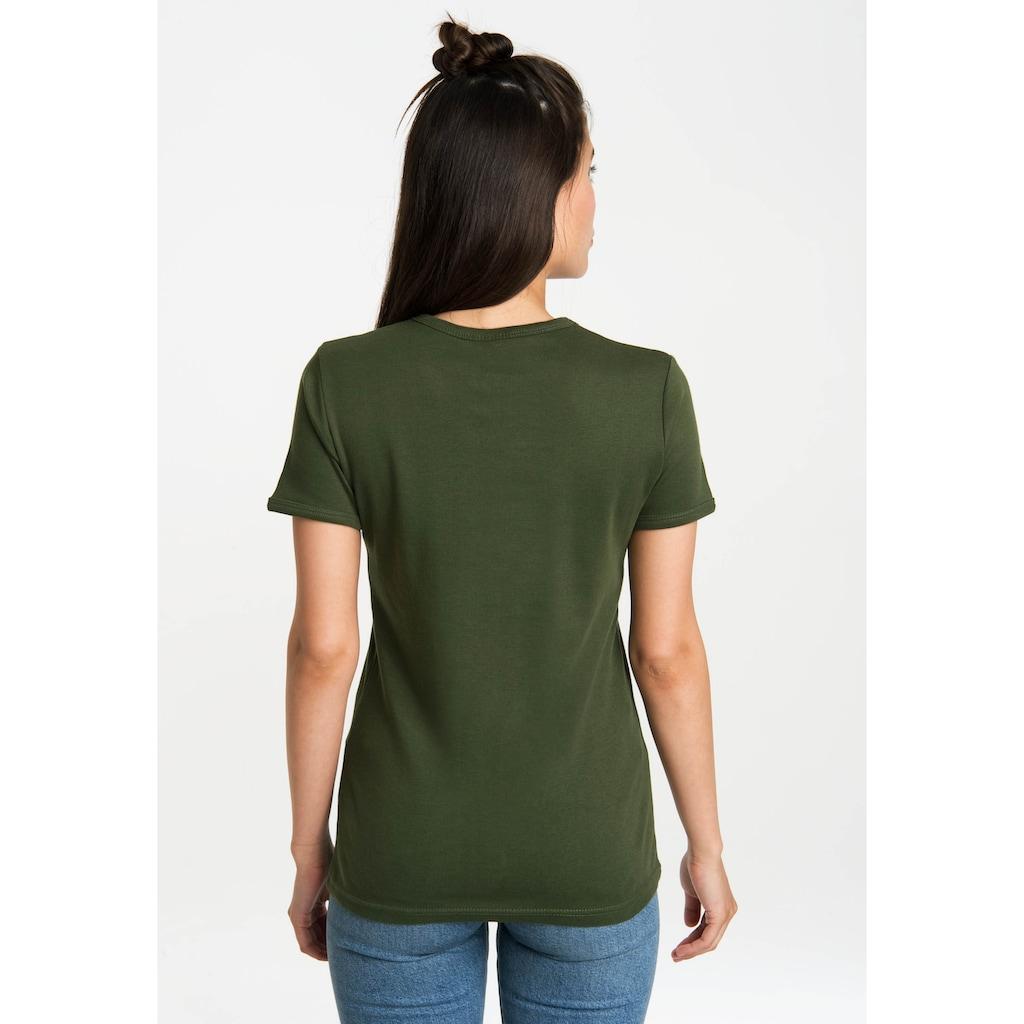 LOGOSHIRT T-Shirt »Coyote«, mit lizenziertem Originaldesign