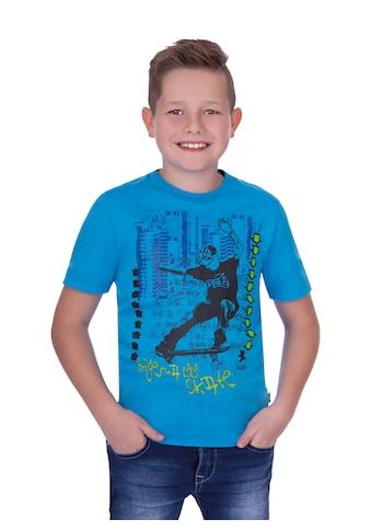 Trigema T-Shirt, mit coolem Aufdruck kaufen